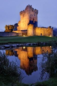 Ross Castle - Killarney, Ireland