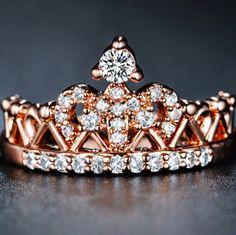 Exquisite Crown Ring