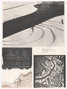 Dennis Oppenheim. Annual Rings. 1968 from Projects by Dennis Oppenheim. 1973