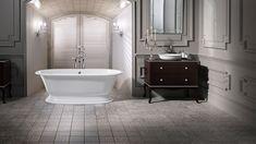 Elwick bath with Radford Basin from Victoria & Albert.