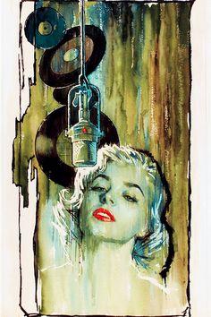 """""""Girl Singer"""" paperback cover, 1961"""