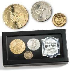 Harry Potter Gringotts Bank Coin Collection by Harry Potter, http://www.amazon.com/dp/B000795NSI/ref=cm_sw_r_pi_dp_UTrmsb0CZ6K7P