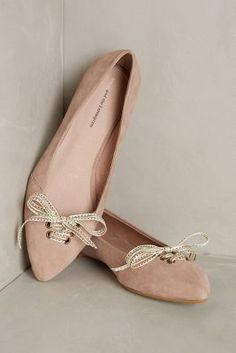 Frenchie Mauve Flats #anthrofave #anthropologie