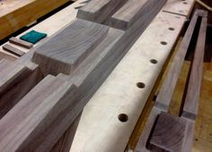 Fierst Design - Eastside Bench  http://fierstdesign.com #fierstdesign #eastside-bench #bench #modernbench #walnut #RIT #rochesterinstituteoftechnology #midcenturymodern #furnituredesign #modernfurniture #designermaker #woodworking #woodbench