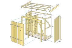 Häng boden på väggen Diy Storage Shed Plans, Garden Storage Shed, Outdoor Sheds, Outdoor Gardens, Diy Chicken Coop Plans, Ocean House, House Yard, Backyard, Patio