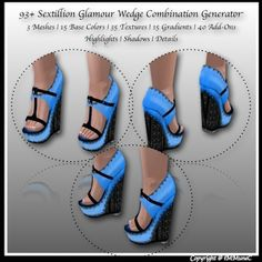 93+ Sextillion Glamour Wedge Generator With Resell Rights created by iMMuneC @ IMVU (http://lnk.al/26RB)