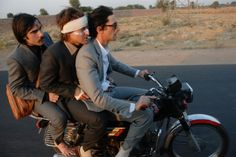 Still From Wes Andersons The Darjeeling Limited 2007