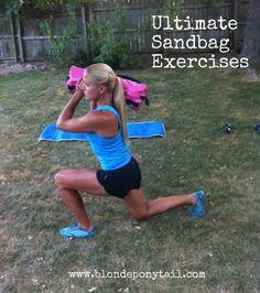 Ultimate Sandbag for training anywhere. Dynamic exercises [video].