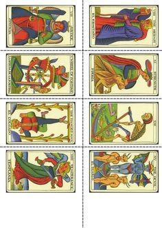 tarot gratis imágenes para imprimir así hacerse de su propio tarot ... 3 Tarot Kartenlegen! Ja oder nein?