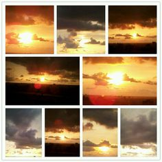 Some beautiful sunsets captured in Kochi!