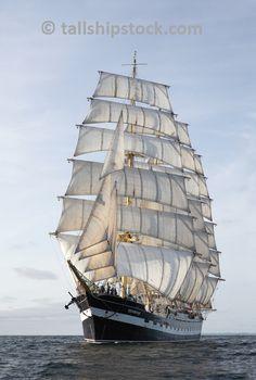 "Four-masted barque ""Kruzenshtern"""