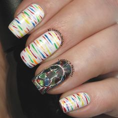 Colorful Lion - Leonie's Nailart