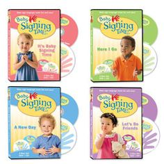 Baby Signing Time 4 Volume DVD Collection