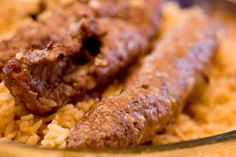 Kebab -vartaat lampaasta - Pastanjauhantaa