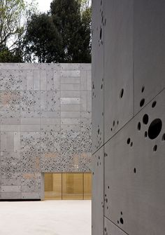 Fachada decorativa Proiek - Museo San Telmo | Piel exterior … | Flickr