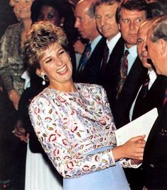 26 October 1992:  a gala at Earls Court in London to celebrate The Queen's, then 66 years old, 40th coronation anniversary