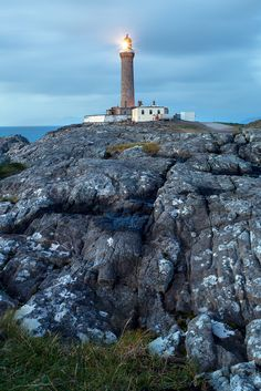 Ardnamurchan Lighthouse. (by Ray Bradshaw.)