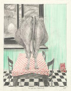 """Saatchi Art Artist Otto Reinebeck; New Media, """"Das Ende eines Liederabends"""" #art"""
