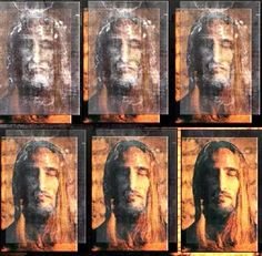 Devotion to the Holy Face of Jesus: The Shroud Of Christ By Paul Vignon D.Sc (Fr) Part Pictures Of Jesus Christ, Religious Pictures, Catholic Art, Religious Art, Croix Christ, Religion Catolica, Jesus Painting, Saint Esprit, Jesus Face