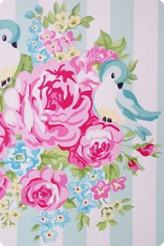 Lulufant: Lovebirds Maleri