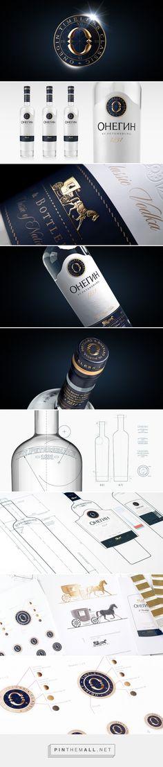 Onegin Vodka packaging design by MILDBERRY - http://www.packagingoftheworld.com/2017/02/onegin-vodka.html
