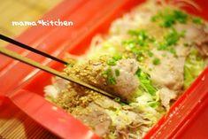 千切りキャベツと豚肉の重ね蒸し: ルクエ レシピブログ Pork Recipes, Mashed Potatoes, Grains, Ethnic Recipes, Kitchen, Food, Whipped Potatoes, Cooking, Essen