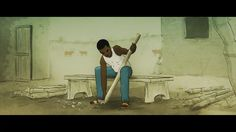 Short film from chad africa n djamena while picking up a small