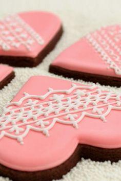 cookies valentine decorative