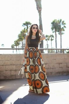 Kitenge Skirt African Outfits, Kitenge, Auntie, Ankara, Womens Fashion, Skirts, Clothes, Dresses, Design