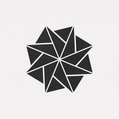 "dailyminimal: "" A new geometric design every day "" Geometric Patterns, Geometric Graphic, Geometric Designs, Geometric Shapes, Icon Design, Design Art, Logo Design, Geometry Art, Sacred Geometry"