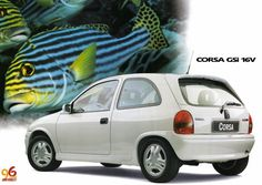 1996 Chevrolet Corsa GSi - Brasil