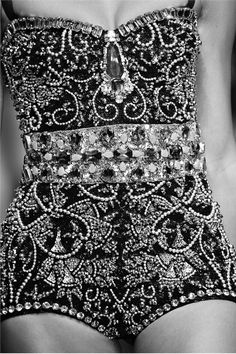 How many hours do you think it took to sew on ALL that beading??