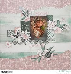 Scrapcited's Place: Breathe - layout created for Kaisercraft Vintage Scrapbook, Baby Scrapbook, Scrapbook Pages, Mixed Media Scrapbooking, Scrapbooking Layouts, O Happy Day, Scrapbooks, Scrapbook Sketches, Card Making