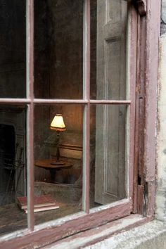 Light in the pink window