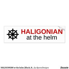 Get stuck in traffic with fun thanks to Helm bumper stickers from Zazzle! Custom car stickers that stand out. Commute in style with quality bumper stickers today! Custom Car Stickers, Car Bumper Stickers, Red And White, Black, Custom Cars, Goodies, Sweet Like Candy, Black People, Car Tuning