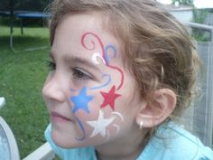 patriotic face painting ideas - Bing Images