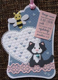 Creaties van Hetty: kinderkaart
