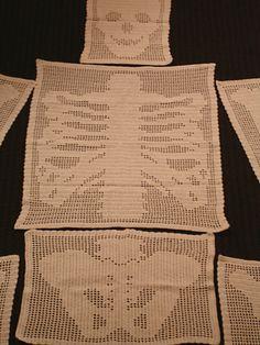 Skeleton Antimacassar pattern by Regina Rioux