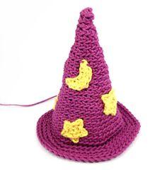 How to Crochet an Amigurumi Wizard!