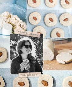 Simple Cookie Recipe: Vegan Vanilla Almond Sandies | The Kitchn
