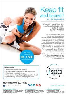 I Spa at Indigo Hotels: Get fit and toned - Fitness October Special. Tel: 202 4920