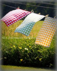 Sunny Summer Days in the Country Country Life, Country Girls, Country Living, Summer Days, Summer Fun, Summer Time, What A Nice Day, Blowin' In The Wind, Laundry Drying