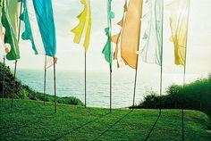 festival wedding flags by phoenixlily, via Flickr