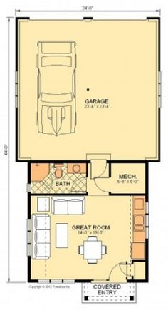 Pool House VI Floor Plan XC, would want a porch on the side next to the pool with large sliding doors into the main room of the pool house