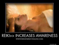 Reiki Benefits No 7 - Increases Awareness