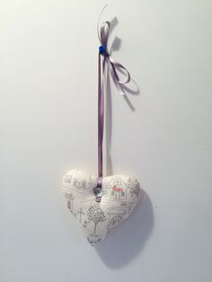 Cute padded heart