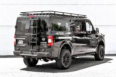 Ken Garff Nissan >> Aluminum Off Road Roof Rack for a Nissan NV | Nissan vans, Van roof racks, Camper van conversion diy