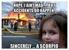 scorpio memes on tumblr - Google Search