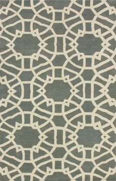 Tuscan lattice Rug