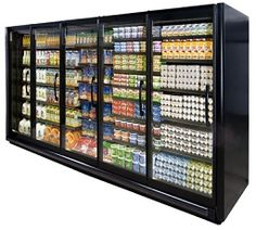 4 Door Commercial Reach In Cooler Refrigeration